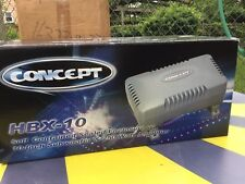 """Concept HBX-10 Amplified Enclosed Subwoofer with 10"""" 250 watts"""