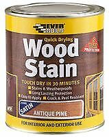 WOOD STAIN ANTIQUE PINE 250ML Chemicals Coatings - SA02647