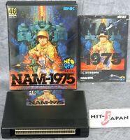 NAM 1975 NEO GEO AES FREE SHIPPING Ref/0708 SNK neogeo JAPAN Game