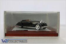 Hispano Suiza HS-K6 Brandone Cabrio 1935 Black ilario Chromes 1:43 Chro047