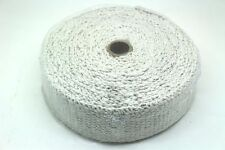 "HEAT WRAP TAPE CERAMIC FIBER EXHAUST MANIFOLD,2"" WIDTH, 2MM LENGTH 10M WHITE"