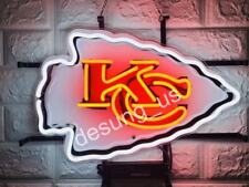 "New Kansas City Chiefs Light Lamp Neon Sign 18"" with Hd Vivid Printing"