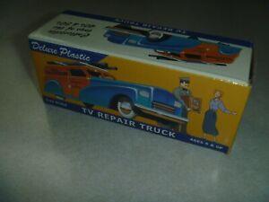 MIB Dimestore Dreams Deluxe Plastic 20051 1/43 TV repair truck panel van O gauge