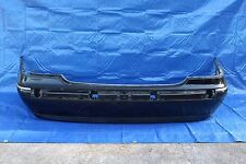 MERCEDES S430 S500 W220 REAR BUMPER COVER ASSEMBLY PANEL OEM  BLACK 2208804871