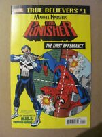 True Believers Punisher 1st App 2018 reprints Amazing Spider-Man #129 9.6 NM+