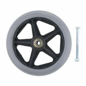 Rollstuhlreifen  pannensicher 6 / 7 / 8  Zoll Größen Rollstuhl Reifen Vollgummi
