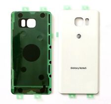 Original OEM Battery Back Cover Samsung Galaxy Note 5 AT&T N920A ~WHITE PEARL~US