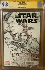 Han Solo #9 CGC 9.8 Signed by Harrison Ford Star Wars Signature Series Comic