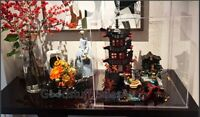 Display case for Lego Ninjago Temple of Airjitzu 70751 ( Aus Top Rated Seller)