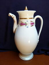 Belle CAFETIERE ancienne  porcelaine de Paris ou Limoges style Empire