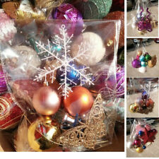 Lot Glitter Christmas Balls Baubles Tree Hanging Ornament Wedding Party Decor