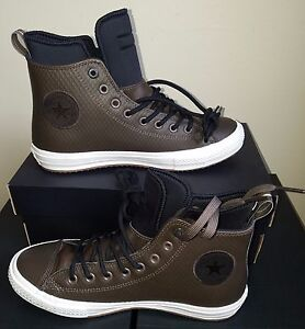 NEW CONVERSE CHUCK TAYLOR ALL STAR II WATERPROOF MESH BACKED LEATHER US 6