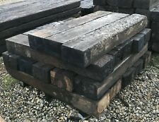 Grade 1 Railway Sleepers Between 1.2-1.3m length, 250 x 150mm Thickness