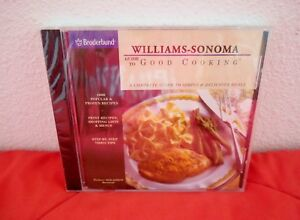 NEW Guide to Good Cooking~ Simple & DeliciousMeals- Williams-Sonoma -PC CD ROM