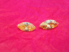 HUGE 4 Ct Russian Simulated MARQUISE CUT LAB YELLOW (16 mm x 8 mm) (1 PC)