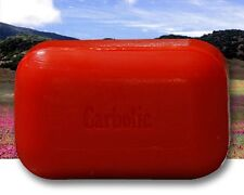 The Soap Works Carbolic Soap Bar (110g) Natural scented anti-bacterial antisepti