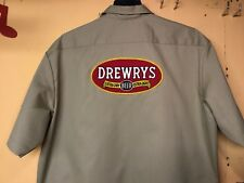 DREWRYS BEER DELIVERY GUY WORK SHIRT DICKIES XXL ! ! ! ! !