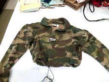 Adidas camo cropped sweatshirt hoodie, sz. XS
