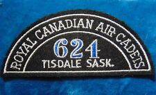 CANADA Royal Canadian Air Cadets TISDALE SASK. 624 squadron shoulder flash
