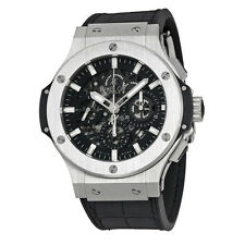 Hublot Big Bang Aero Bang Black Dial Chronograph Mens Watch 311-SX-1170-GR