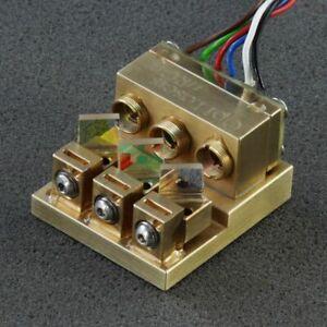Micro RGB Laser Module Multiple Wavelengths Three Laser Beams Red Green Blue