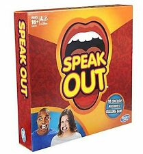 SPEAK OUT GAME READY TO POST CHRISTMAS PARTY MUST HAVE HASBRO LIMITED GENUINE UK