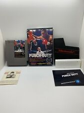 Mike Tyson's Punchout CIB With Letter Nintendo