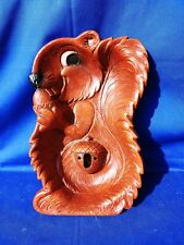 Vintage 1960's Fun Squirrel Shaped Nut Bowl W/ Spot for 2 Picks & Cracker ��m13