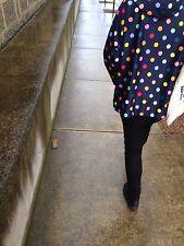"Cutest GORMAN ""Polka dot"" raincoat coat jacket * One size fits all"
