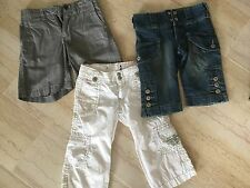 GAP KIDS: LOT DE 3 BERMUDAS & SHORT FILLE TAILLE 5 ANS