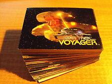 STAR TREK VOYAGER SEASON 1 COMPLETE BASIC SET