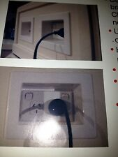 Recessed Power Point Outlet Wall Box for Plasma,LCD TV's & more
