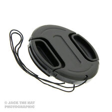 40.5mm Lens Cap with Centre Grip Pinch Release. Complete With Safety Cord.