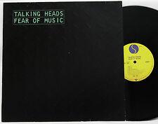 Talking Heads Fear of music OIS NM # L