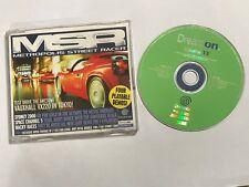 SEGA DREAMCAST dreamon Demo Vol. 13 MSR Wacky Races Sydney de canal 5 de espacio 2000
