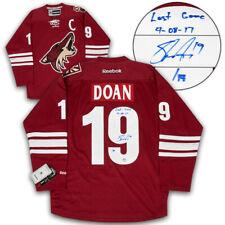 Shane Doan coyotes firmadas y fechadas Arizona Ultimo Juego Jersey Reebok Hockey #/19