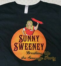 "Sunny Sweeney ""Breaking Up The Sausage Party"" Country Music T-Shirt Ladies Large"