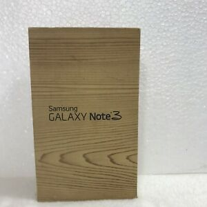 Box Only Samsung Galaxy Note 3 Samsung Manuals High Quality Empty Box