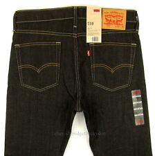 Levis 510 Jeans Skinny Fit Mens New Size 33 x 30 DARK BLUE STRETCH Levi's NWT