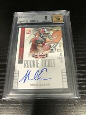 2014 Panini Contenders Mike Evans Rookie Ticket BGS 9 W/10 Auto 🔥🔥