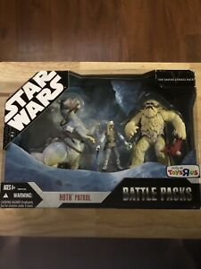 Star Wars Battle Packs Hoth Patrol Toys R Us Exclusive Hasbro New Sealed