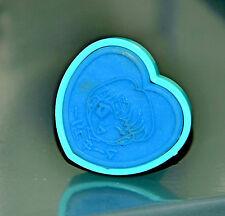 Sailor Mercury stamp Sailor Moon vintage Japanese Bandai Japan heart shaped