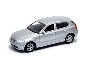 BMW Series 1 116i 116d 118d 120i 120d 123d E87 Silver Welly 52268 1:64 Toy Car