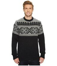 40% OFF!   NEW MEN'S DALE OF NORWAY SKIGARD SWEATER , LARGE, DARK CHARCOAL.