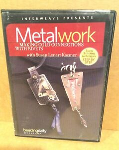 DVD Metalwork Cold Connections with Rivets, Kazmer, 2009, Jewelry