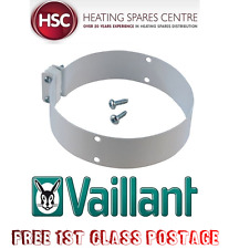 GENUINE VAILLANT BOILER FLUE CLAMP 100MM X 30MM 0020018318 - FREE 1ST CLASS POST