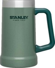 Stanley Adventure Vacuum Stein Mug Hammertone Green - Cold Beer or Hot Coffee