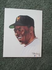 Willie Mays Limited Edition 8X10 Ron Lewis Art Print  - 376/5000 - VERY NICE!!!!
