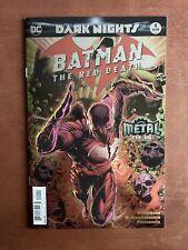 Dark Nights: Batman The Red Death #1 (2017) 9.4 NM DC Metal Tie In Foil Cover