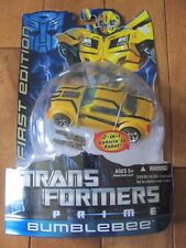 Transformers Prime BUMBLEBEE First 1st Edition 2 in 1 Vehicle to Robot 2011 NEW
